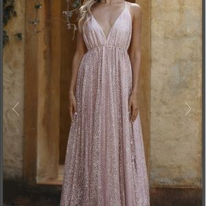 Hello Molly Glitter Formal Gown